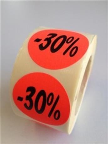 Fluor sticker - 30%