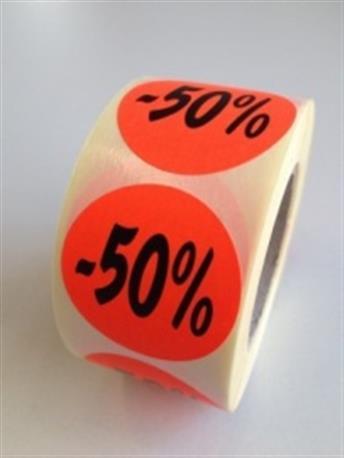 Fluor sticker - 50%