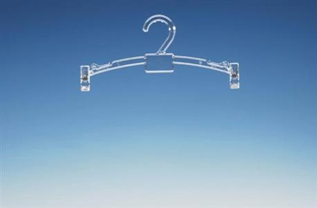 Klemhanger 270mm. Transparant