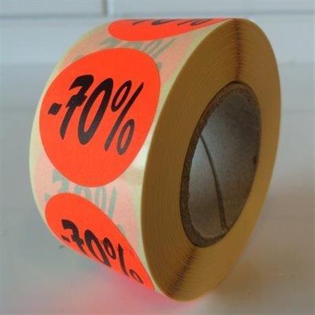 Fluor sticker -70%